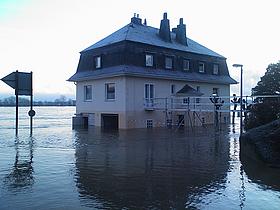 Hochwasser in Wesseling 2010
