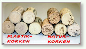 Die Kork-Fotos wurden mit der freundlichen Genehmigung der Abfallberaterin der Stadt Kerpen eingestellt.