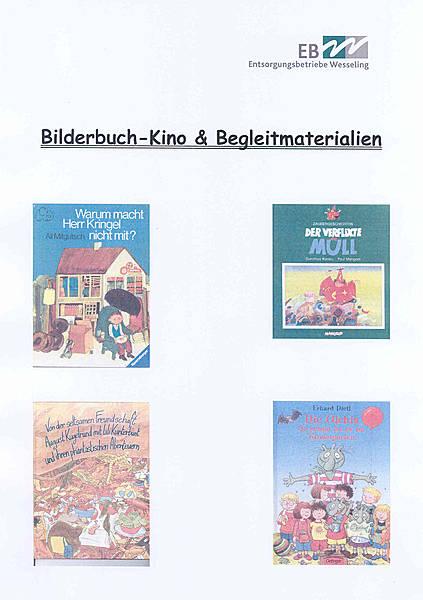 Bilderbuchkino-Kiste zum Thema Abfall