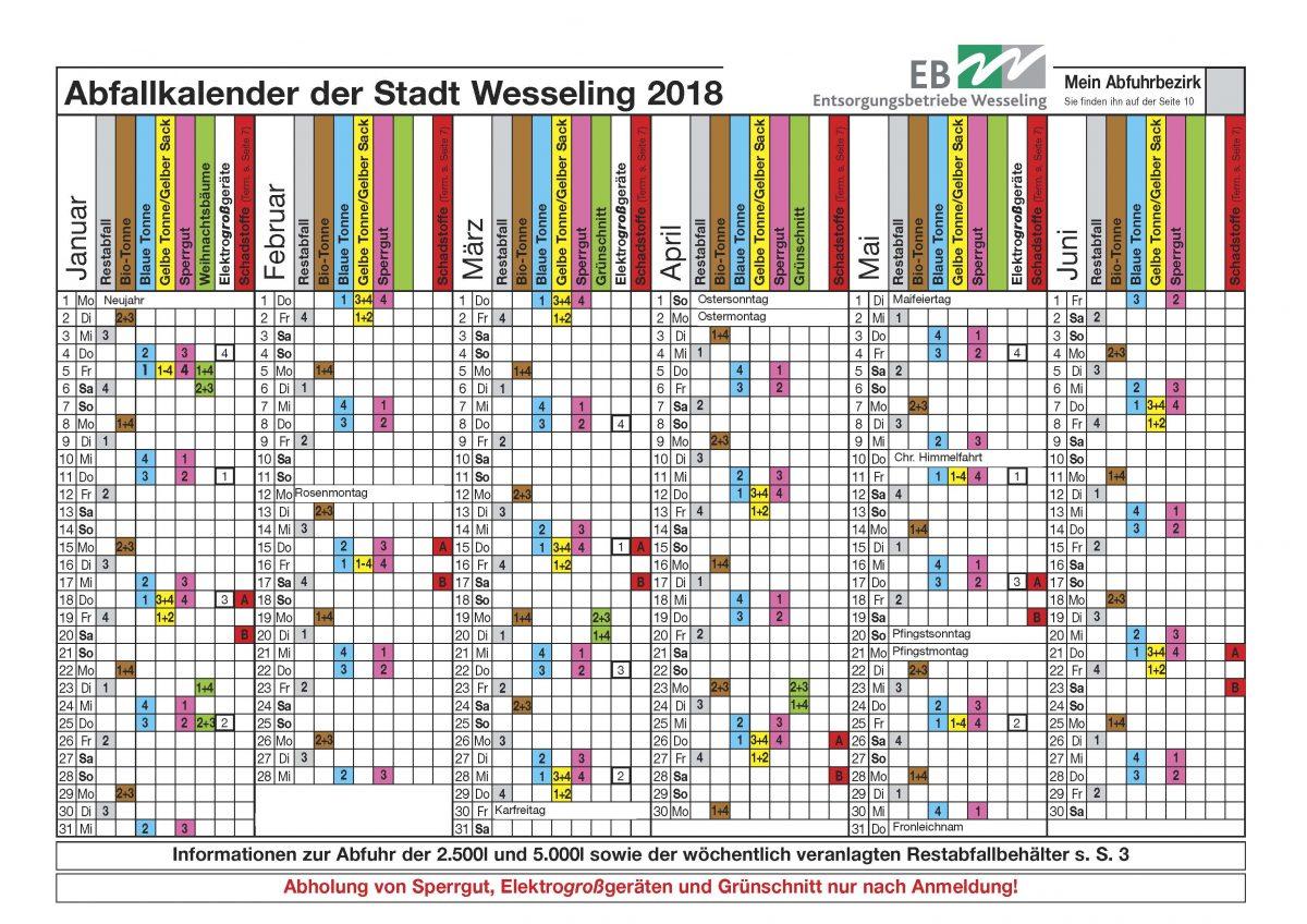 Wesseling2018_Kalender_Seite_1